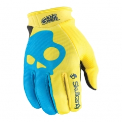 ANSR Skullcandy Gloves (Blue/Yellow)