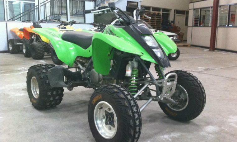 Motorcycles - MotoADV Kenya - Kawasaki KFX400