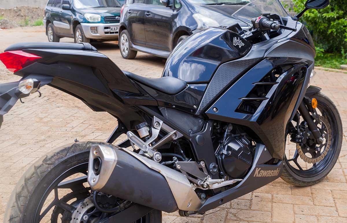 2013 Kawasaki Ninja Ex300 Motoadv Kenya